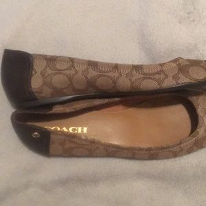 Women's brown coach shoes